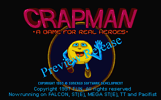 Crapman - A Game for Real Heroes